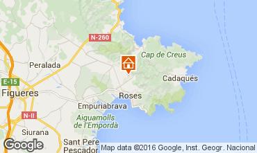 Mappa Rosas Villa  102783