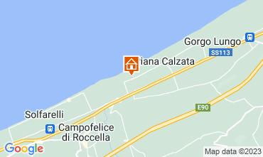 Mappa Cefalù Appartamento 65316