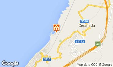 Mappa Bagnara Calabra Appartamento 53653