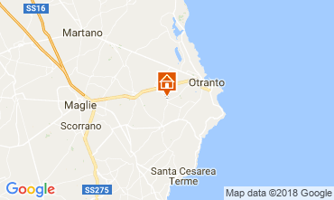 Mappa Otranto Appartamento 115844