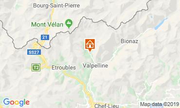 Mappa Aosta Appartamento 119799