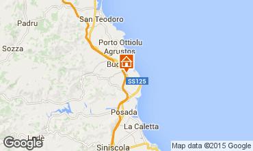 Mappa Budoni Casa 77410
