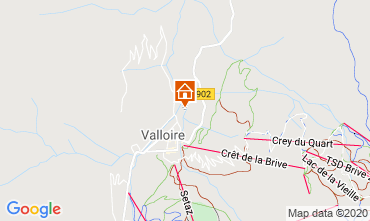 Mappa Valloire Chalet 38642