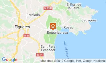 Mappa Empuriabrava Villa  114050