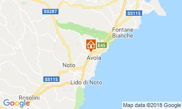 Mappa Avola Villa  117196