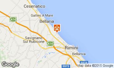 Mappa Rimini Appartamento 73189