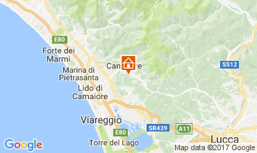 Mappa Camaiore Casa 108467