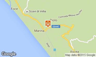 Mappa Ascea Appartamento 98392
