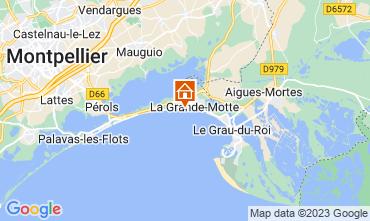 Mappa La Grande Motte Appartamento 57110