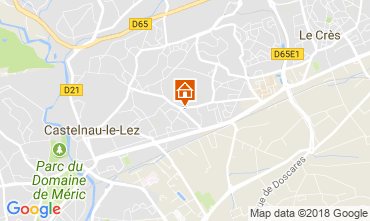 Mappa Montpellier Appartamento 114785