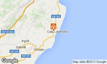 Mappa Cala Liberotto Appartamento 59779