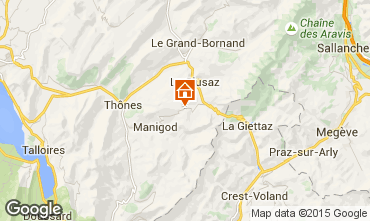 Mappa La Clusaz Appartamento 28042