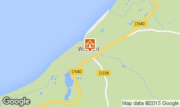 Mappa Wissant Appartamento 80605