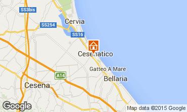 Mappa Cesenatico Appartamento 88973