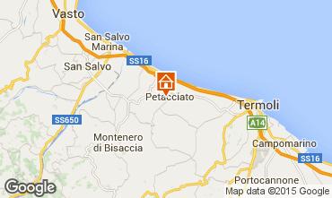 Mappa Vasto Villa  84467