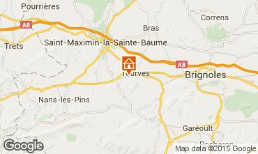 Mappa Saint Maximin la Sainte Baume Villa  88943