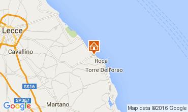 Mappa San Foca Appartamento 103653