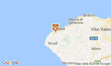 Mappa Tropea Appartamento 114193