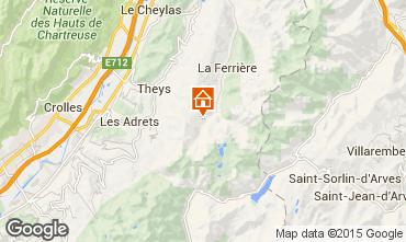 Mappa Les Sept Laux Appartamento 73958
