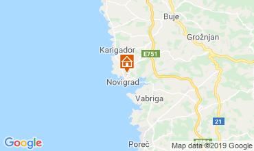 Mappa Cittanova d'Istria (Novigrad) Monolocale 92934