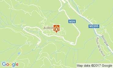 Mappa Auron - Saint Etienne de Tinée Monolocale 112686
