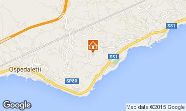 Mappa Sanremo Appartamento 84648
