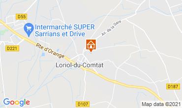 Mappa Loriol-du-Comtat Agriturismo 98363