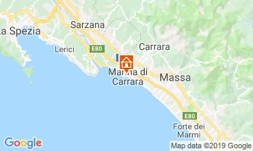 Mappa Marina di Carrara Appartamento 99177