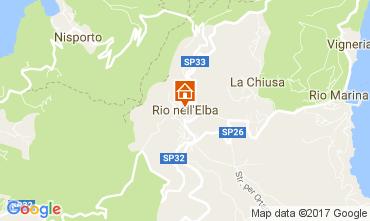 Mappa Rio nell'Elba Appartamento 84392