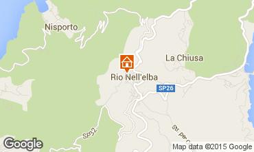 Mappa Rio nell'Elba Monolocale 82855