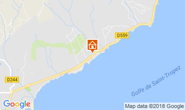 Mappa Saint Tropez Casa 93909