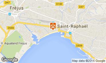 Mappa Fréjus Appartamento 102592