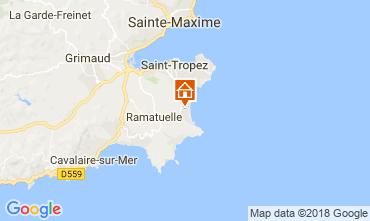 Mappa Ramatuelle Villa  114962
