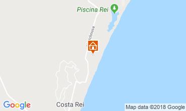 Mappa Costa Rei Appartamento 115269