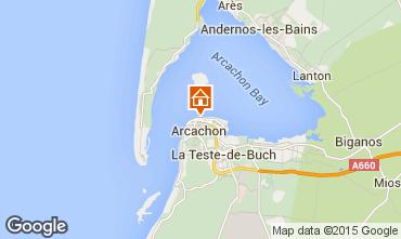 Mappa Arcachon Monolocale 46236