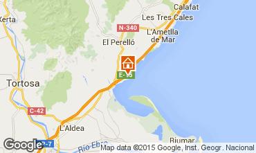 Mappa L'ampolla Villa  9907