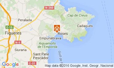 Mappa Rosas Appartamento 103491