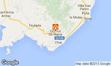 Mappa Chia Appartamento 70851