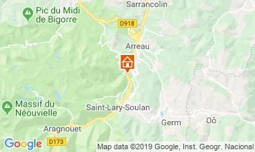 Mappa Saint Lary Soulan Casa 117672