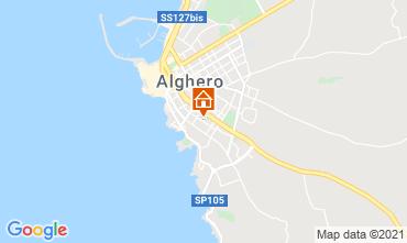 Mappa Alghero Appartamento 51195