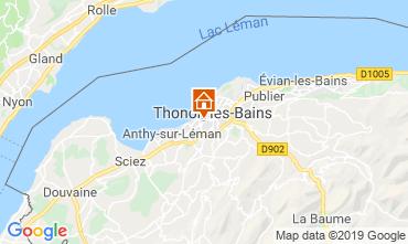 Mappa Thonon Les Bains Appartamento 118446