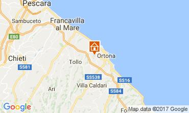 Mappa Ortona Appartamento 55524