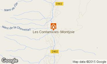 Mappa Les Contamines Montjoie Appartamento 17080