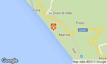 Mappa Ascea Villa  46892