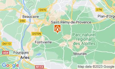 Mappa Les Baux de Provence Agriturismo 13098