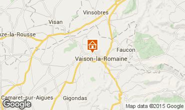 Mappa Vaison la Romaine Agriturismo 81749