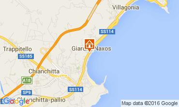Mappa Giardini Naxos Appartamento 89020