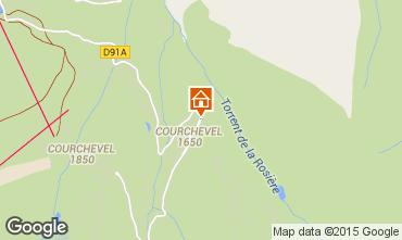 Mappa Courchevel Appartamento 1096