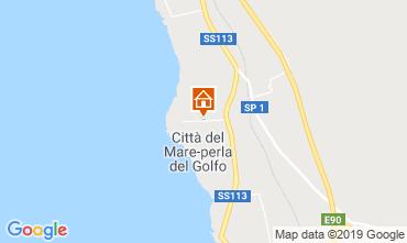 Mappa Terrasini Villa  83225