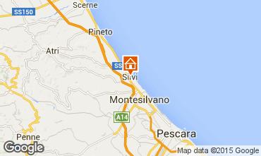 Mappa Silvi Marina Appartamento 98056